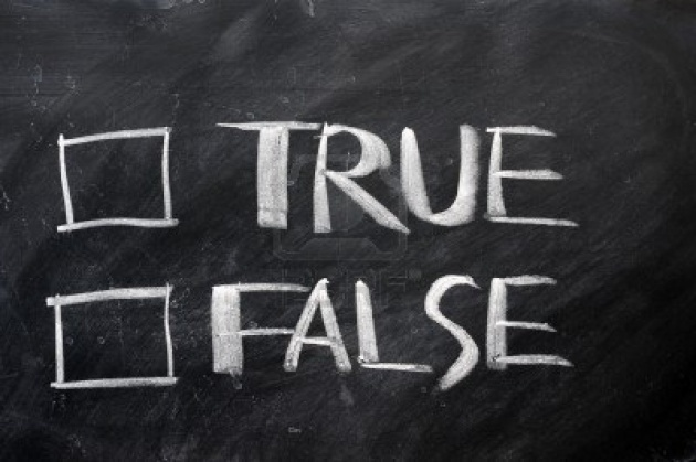 How To Giving False Statements